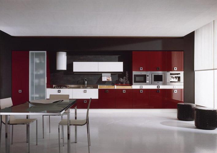 Davausnet decoration cuisine rouge bordeaux avec des for Idee deco cuisine avec cuisine couleur rouge bordeaux
