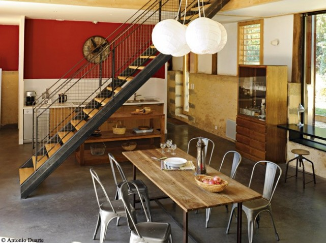 Decoration cuisine salle a manger for Idee deco cuisine avec salle a manger style contemporain