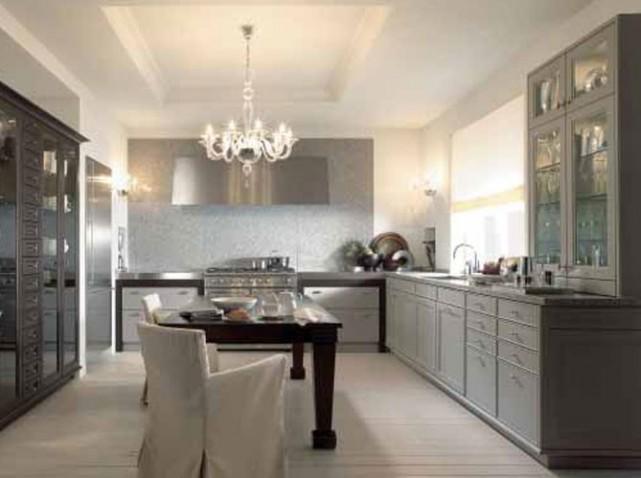 D coration cuisine salle manger for Modele cuisine ouverte salle manger
