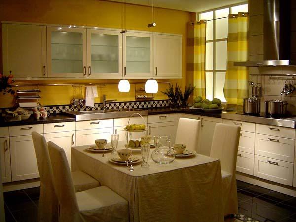decoration cuisine toscane