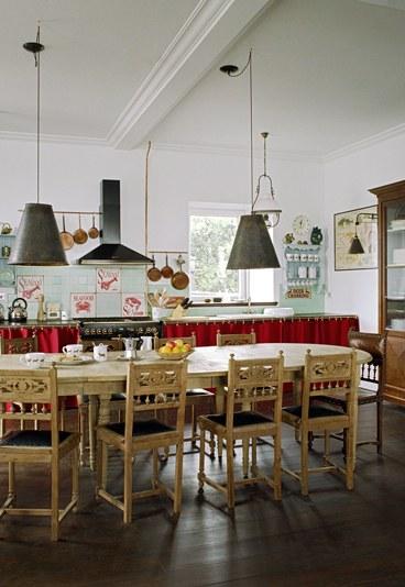 D coration cuisine vintage for Photo cuisine retro