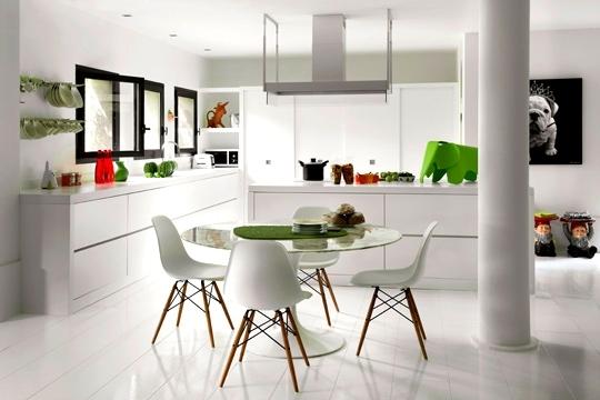 decoration d une cuisine blanche