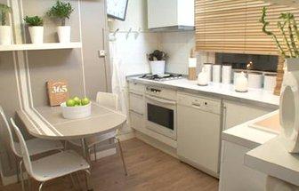 decoration d\'une cuisine blanche