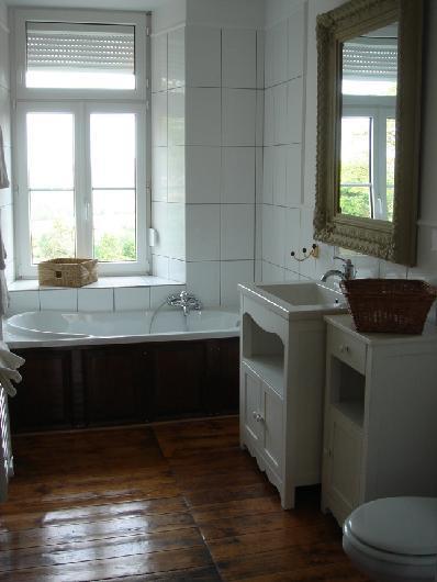 aménagement décoration salle de bain ancienne - Photo Déco