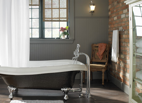 D coration salle de bain champ tre for Salle bain champetre
