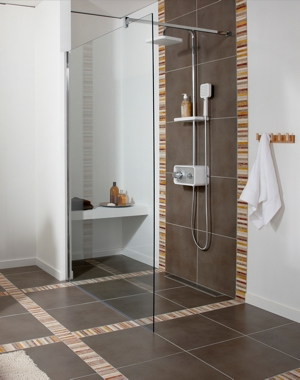 decoration salle de bain douche italienne. Black Bedroom Furniture Sets. Home Design Ideas