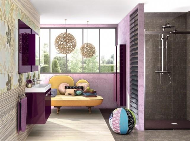 D coration salle de bain fille for Deco chambre salle de bain