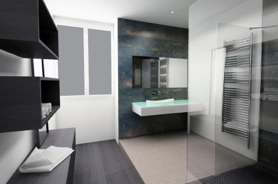 d coration salle de bain noir et blanc. Black Bedroom Furniture Sets. Home Design Ideas