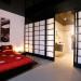 décoration salle de bain ouverte sur chambre