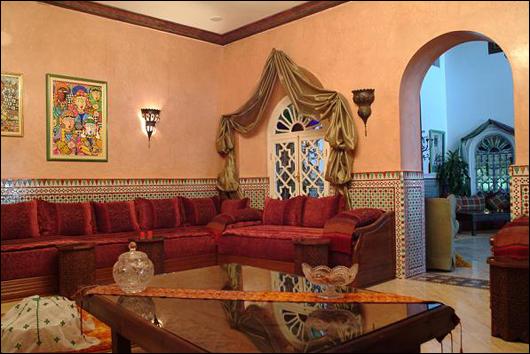 d coration salon algerien. Black Bedroom Furniture Sets. Home Design Ideas