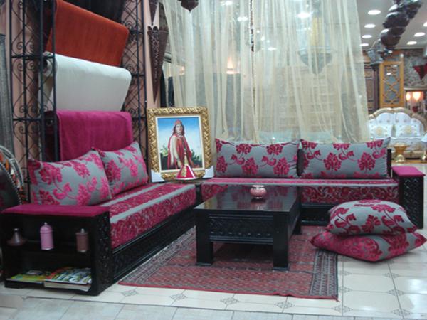 Salon Algérien Moderne : Décoration salon algerien