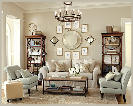 belle décoration salon classique