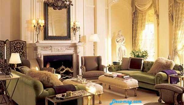 organisation décoration salon classique - Photo Déco