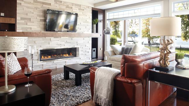 D coration salon cuisine aire ouverte for Decoration americaine pour salon
