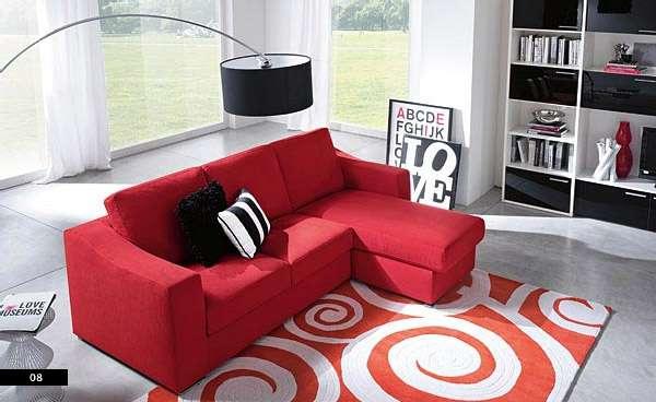 d coration salon divan rouge. Black Bedroom Furniture Sets. Home Design Ideas
