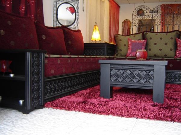 Photo décoration salon marhaba montreuil - Photo Déco