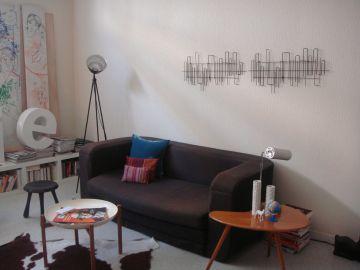 d coration salon murale. Black Bedroom Furniture Sets. Home Design Ideas