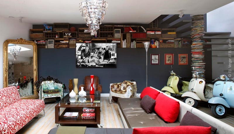 D coration salon originale for Belle deco salon