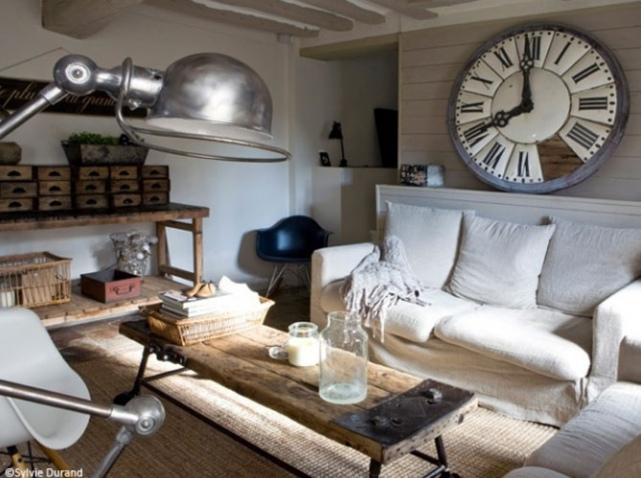 d coration salon vintage. Black Bedroom Furniture Sets. Home Design Ideas