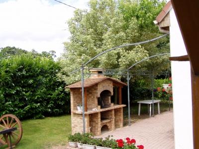 aménagement deco jardin barbecue - Photo Déco