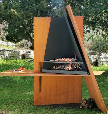 exemple deco jardin barbecue