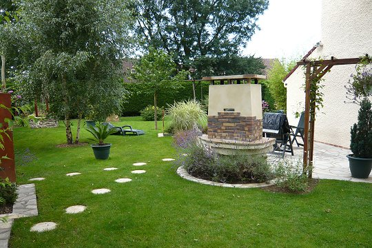 Deco jardin barbecue for Decoration exterieur de jardin