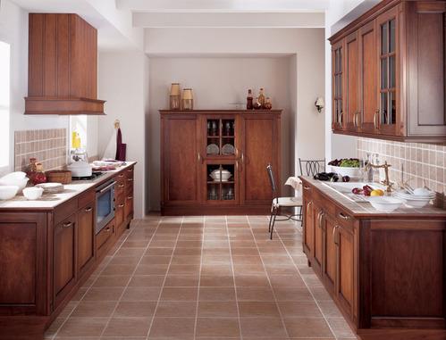 Decoration cuisine bois for Idee deco cuisine en bois