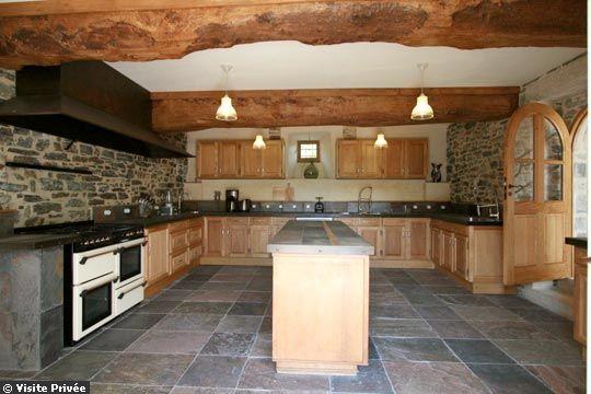 Decoration cuisine bois - Cuisine campagnarde en bois ...