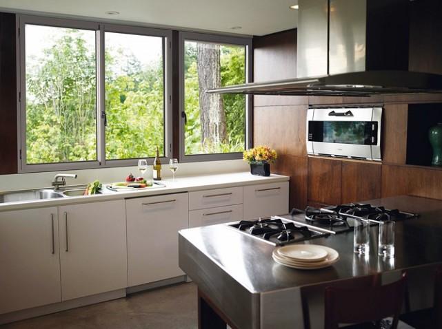Fabuleux aménagement decoration cuisine fenetre QQ32