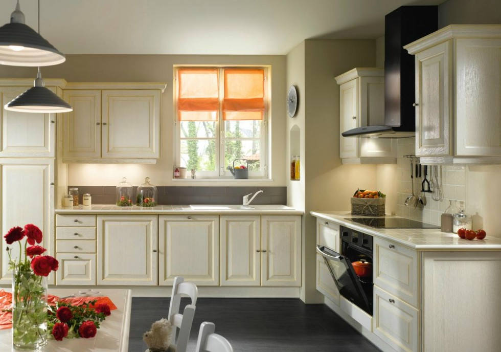 Populaire organisation decoration cuisine fenetre WT34