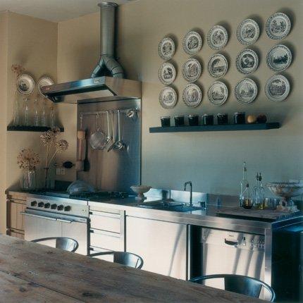 decoration cuisine inox