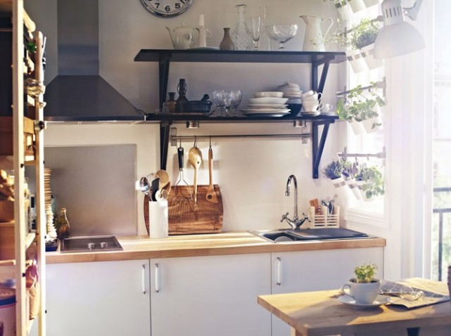 idée decoration cuisine petite surface - Photo Déco