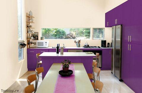 Decoration cuisine violet - Deco cuisine violet ...
