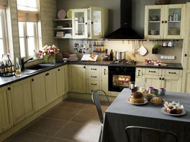 decoration pour hotte cuisine. Black Bedroom Furniture Sets. Home Design Ideas