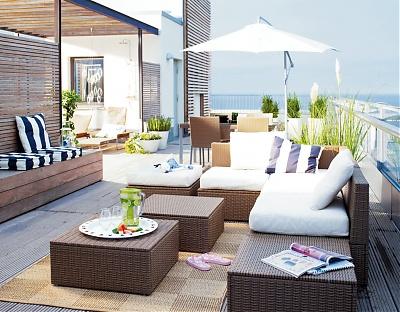 aménagement decoration pour salon de jardin