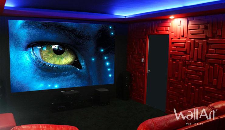 decoration salon home cinema. Black Bedroom Furniture Sets. Home Design Ideas