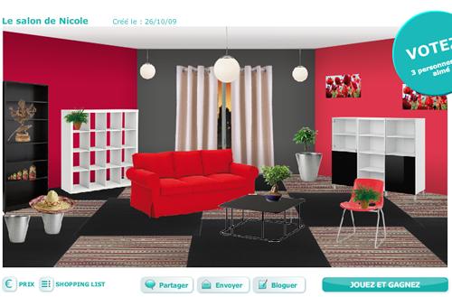 decoration salon ikea. Black Bedroom Furniture Sets. Home Design Ideas