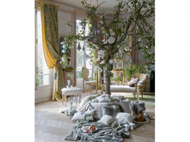 decoration salon noel. Black Bedroom Furniture Sets. Home Design Ideas