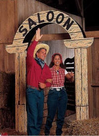 decoration saloon western