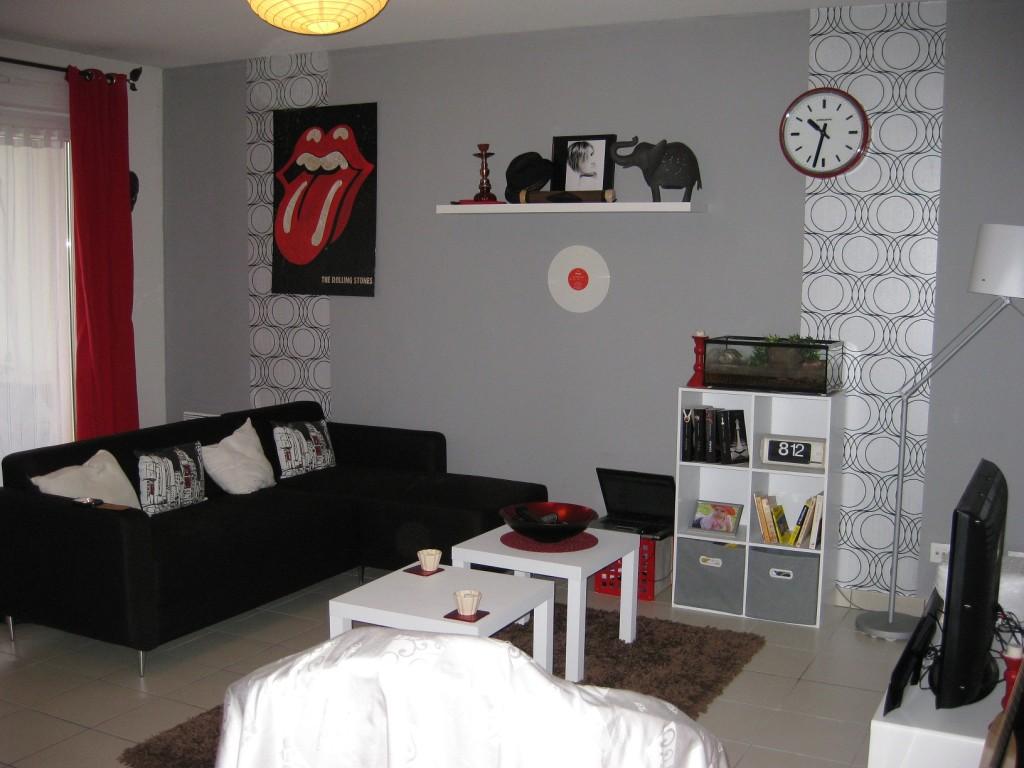 Id e d co salon urbain - Modele decoration salon ...