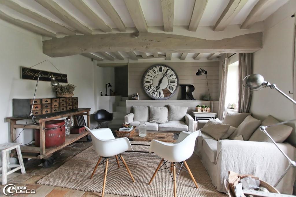Id e d co salon usine - Photo decoration salon ...