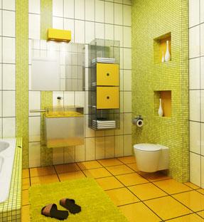 belle maison et décoration salle de bain - Photo Déco