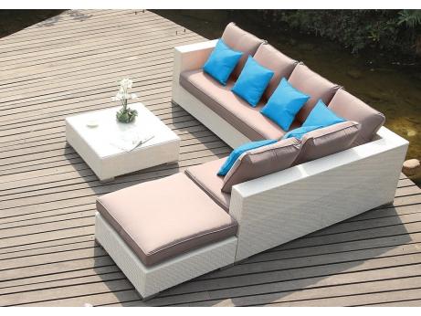 Salon de jardin d 39 angle for Canape d angle exterieur resine