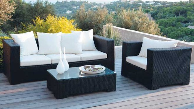 salon de jardin design. Black Bedroom Furniture Sets. Home Design Ideas
