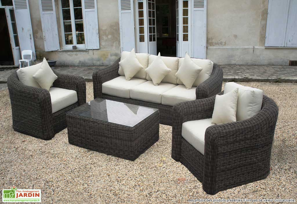 salon de jardin en resine. Black Bedroom Furniture Sets. Home Design Ideas
