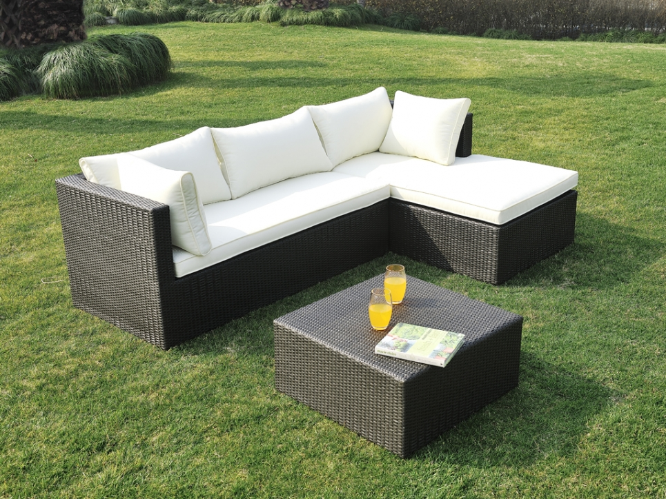 Salon de jardin - Salon de jardin, table et chaise Leroy Merlin