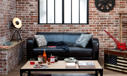 d co ambiance loft new yorkais. Black Bedroom Furniture Sets. Home Design Ideas