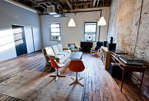 déco ambiance loft newyorkais