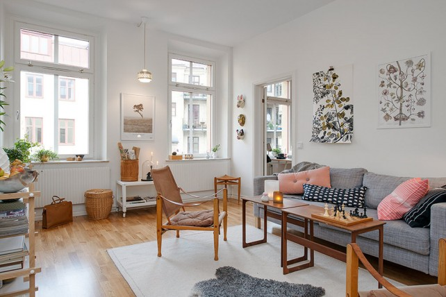 D co appartement blog - Decoration appartement scandinave ...