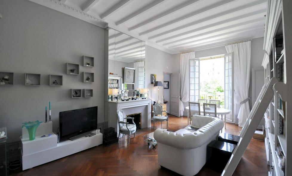 D co appartement bourgeois - Idee deco chambre contemporaine ...